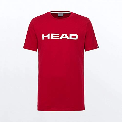 HEAD Club Ivan T-Shirt M T_Shirts Homme Rouge/Blanc FR : XL (Taille Fabricant : XL)