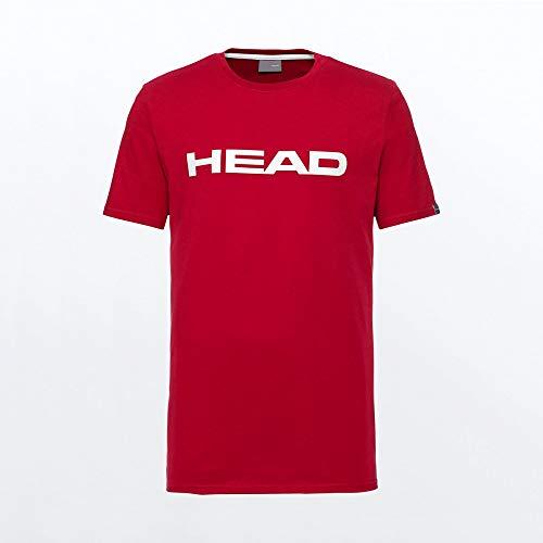 HEAD Club Ivan T-Shirt M T_Shirts Homme Rouge/Blanc FR...
