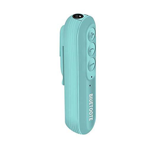 Y-XM Cascos Bluetooth Plegable Deportes Clip-on Bluetooth Auriculares Coche Mini Adaptador Adaptador de Audio