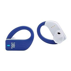 JBL Endurance Peak True Wireless in-Ear Sport Headphone with Touch Controls - Blue (Renewed)