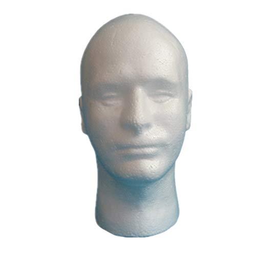 tete a perruque tete mannequin Polystyrène tête Perruque mannequin tête Tête de mannequin pour perruques Maniquine tête Tête en mousse de polystyrène