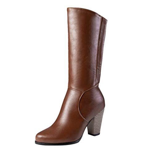 HLIYY- Chaussures Boots Femme Hiver Mode Bottine...