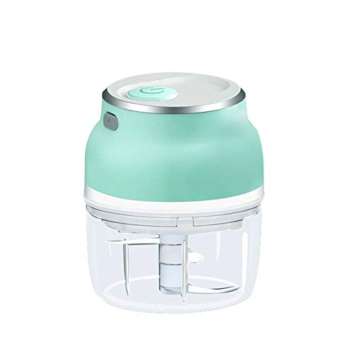 MJYT Electric Mini Garlic Chopper Vegetable Food Mincer USB Rechargeable for Home