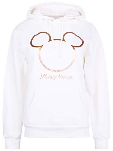 Beżowa, ciepła bluza z kapturem Myszka Miki Disney