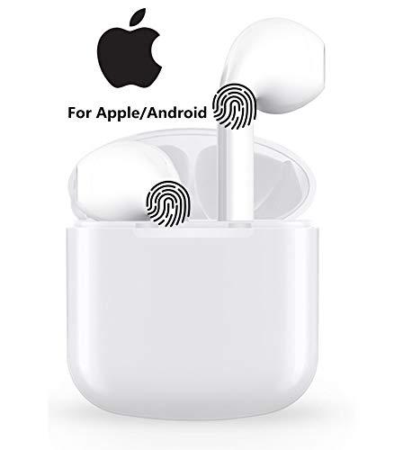 Auricolare Bluetooth Senza Fili, Cuffie Wireless Stereo 3D with IPX5 Impermeabile, Accoppiamento Automatico Per Chiamate Binaurali, Adatto Compatibile