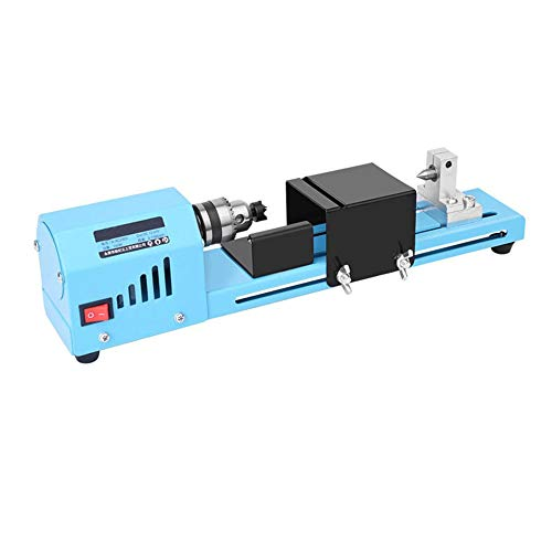 Best Prices! QWERTOUY DC12-24V 150W Mini Lathe Beads Machine Woodworking DIY Lathe Standard Set Wood...