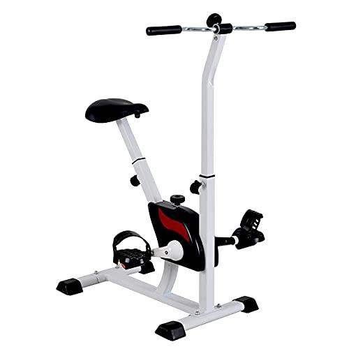 GJQDDP Mini Bicicleta De Fitness para Interiores, Rehabilitación, Pasamanos Vertical, Pedal para Piernas para Ancianos, Hombres, Ancianos Y Ancianos, Entrenamiento De Brazos Y Piernas