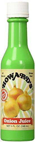 HOWARD'S Onion Seasoning Bottled Juice | Gluten-Free, All Natural,...