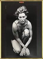 ポスター ピーター リンドバーグ キャリー・オーティス Timeless Views pirelli 96 額装品 アルミ製ベーシックフレーム(ゴールド)