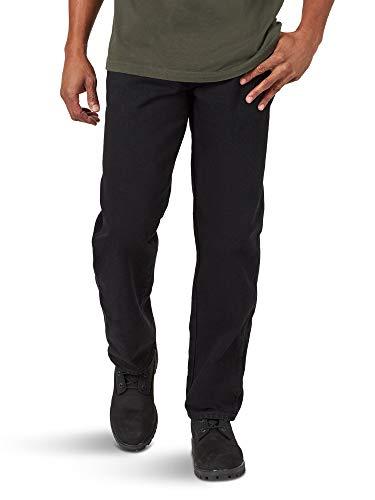 Rustler Classic Men's Relaxed 5 Pocket Jean, Black, 31W x 30L