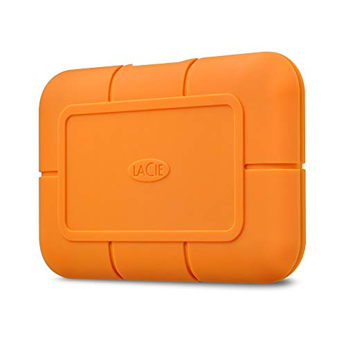 LaCie Rugged SSD USB-C w/ Rescue, 500 GB, externe SSD, 2.5 Zoll, USB-C, Mac & PC, Modellnr.: STHR500800