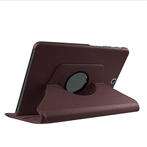 LIUCHEN Funda de tableta360 Funda giratoria para Tableta con Soporte para Samsung Galaxy Tab S2 9.7 Pulgadas Cubierta T810 T813 T815 T819 SM-T810 T813 T815 Cuero, marrón