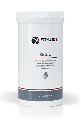 STAUDT Gel Nachfülldose 500ml: angenehme Salbe aus Grünlippmuschelextrakt und pflanzlichen Wirkstoffen (SomniShop Set L 210)