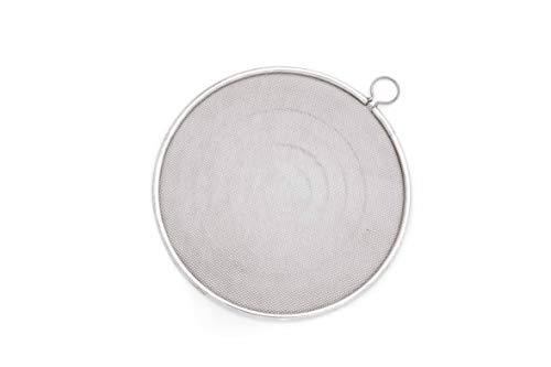 Metaltex Frangifiamma, Fibra, Ceramica, 19 cm, Acciaio Cromato