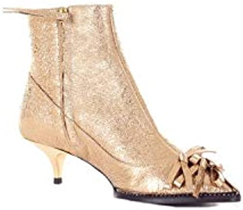 N°21 Damen N218I821201450Gold Gold Stoff Stiefeletten