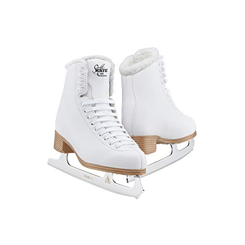 Jackson Classic Fleece SoftSkate 380 Womens/Girls Ice Figure Skates/JUST LAUNCHED NOV 2020 - Womens Size-7.0