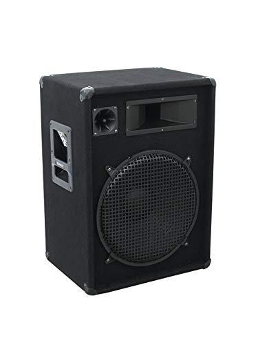 OMNITRONIC DX-1522 3-Wege Box 800 W   Robuste Full-Range-Box mit 15