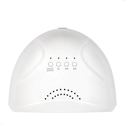 LED Light Therapy Nail Dryer Do Vernis À Ongles 48 W Ouverture Magasin En Plastique Cuisson Lampe Nail Lampe Maison Machine À Séchage Rapide Four