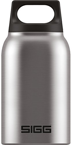 Sigg Hot und Cold Food Jar Brushed Container, Silber, 0.5 L