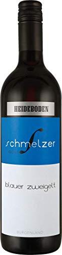 Schmelzer Blauer Zweigelt Heideboden - Österreich Neusiedlersee (1x 0,75l) Rotwein trocken