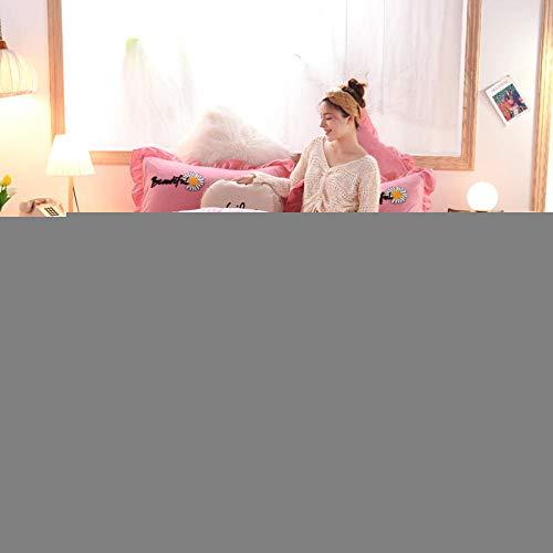 Set de Fundas Reversibles para edredón-Cama de invierno más terciopelo grueso funda nórdica de terciopelo de cristal estilo princesa cama doble individual funda de almohada individual regalo de Navid