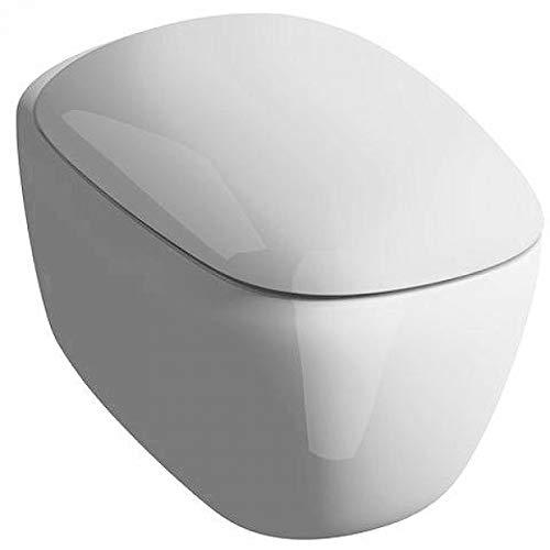 Keramag Tiefspül-WC CITTERIO spülrandlos wandhängend 4,5/6 l weiß KT