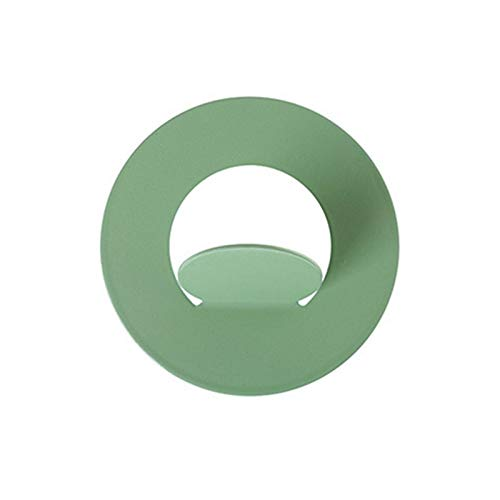 Puerta de pared Gancho gratis Puerta de perforación sin traza Ropa de uñas Cocina Cocina Cuarto de baño Dormitorio Adhesivo Ganchos Rack Muralla Percha de pared Gaodpz (Color : Green)