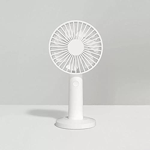 Desk Fans Original Handheld Fan Three Wind Speeds Portable Handheld Usb-Rechargeable Handheld Vertical Dual-Use Fans