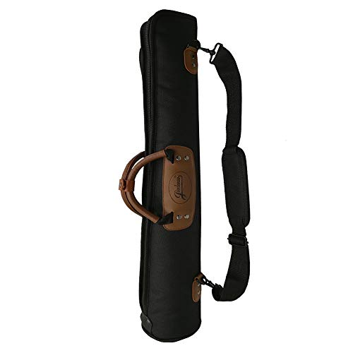 LONGTAI Soft Clarinet Case Soprano sax Saxophone EWI Electronic Torch Gig Bag 1200D 15mm Padded with Leather Carry Handle