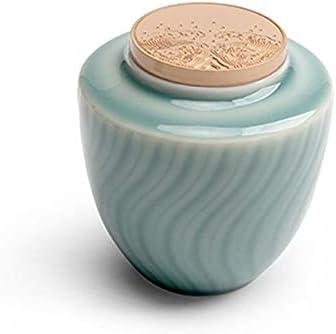 VWJFHIS Qingshan Tea Minneapolis Topics on TV Mall Caddy Sealed Househ Ceramic Pu'er