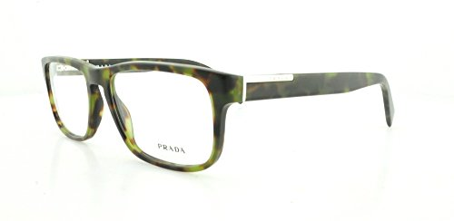 Prada - Gafas de sol - para hombre Marrón Matte Green Havana