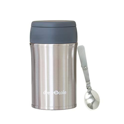 DREW & COLE - Termo para Sopa y Chef, Acero Inoxidable, Cromo clásico, 500 ml