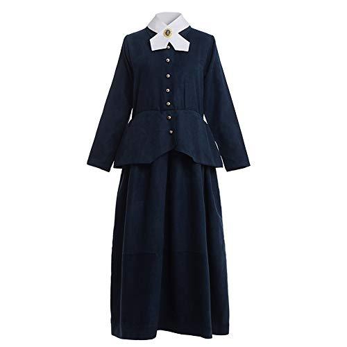 GRACEART Disfraz De Niñera Victoriana Mary Poppins Disfraces y Accesorios (2XL)