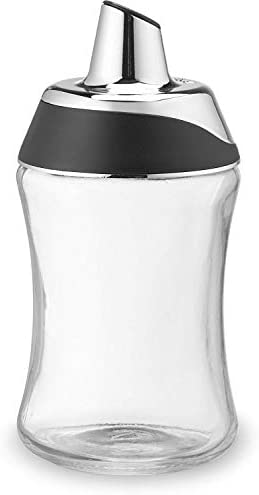 J M Design Sugar Dispenser Shaker For Coffee Cereal Tea Baking with Pouring Spout and Lid for product image
