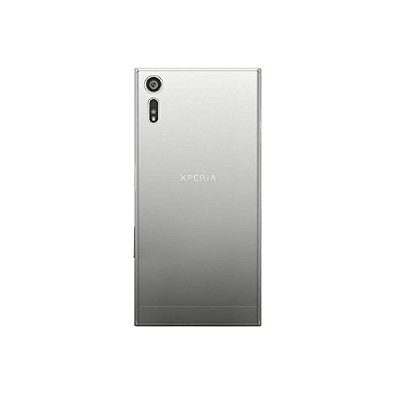 夜明け再集計郡Xperia XZ Premium ケース ソフト TPU 耐衝撃 クリア 透明 軽量 薄型 SO-04J (クリア)