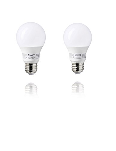 IKEA RYET LED Bulbs E26 A19 2700K Warm Soft White - Pack of 2 (1000 Lumen - 11.5 Watts)