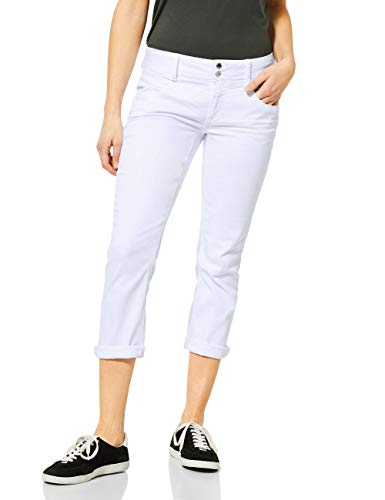 Street One Damen Jane Jeans, White, W28/L26