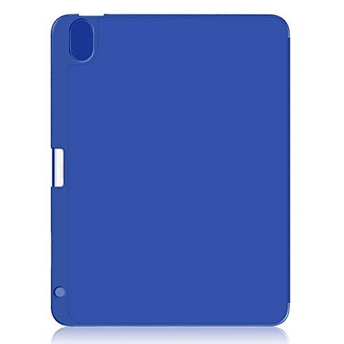MAGFUN TríPtico con Ranura para BolíGrafo Tipo de Ranura para Tableta Cubierta Protectora para Tableta Adecuado para Air4 10,9 Pulgadas Azul