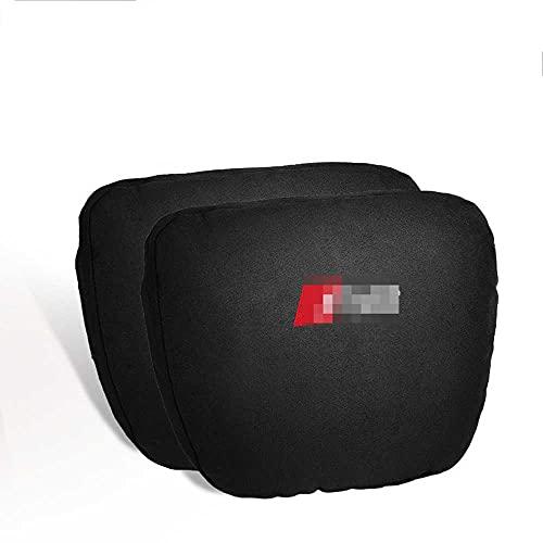 ASHDelk Supporto per Il Collo dello Schienale del Cuscino del Collo del poggiatesta del seggiolino Auto, per Audi RS3 RS4 RS5 RS6 RS7 RS8 2008~2021