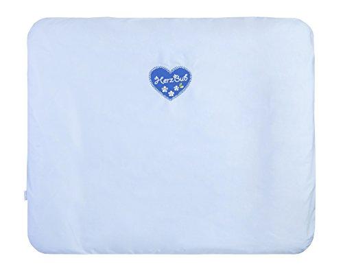 Julius Zöllner 2384114660 Matelas à langer avec motif cœur Herzbub, 75 x 85 cm