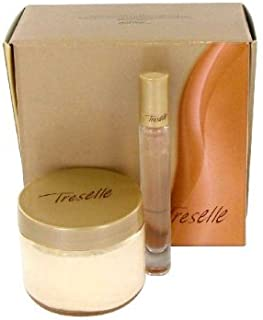 Treselle by Avon Gift Set - 4.2 oz Body Souffle & .2 oz.Touch on Perfume Rollette