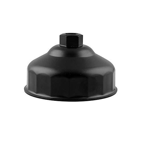 KKmoon Ölfilterschlüssel Ölfilter Deckel Ausbauwerkzeug für 86mm BMW Motoren Ölfiltergehäuse