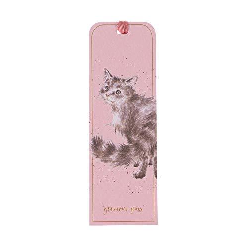 Wrendale - Segnalibro a forma di gatto, 15 x 5 cm