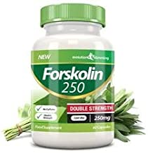 Forskolin 250 Double Strength 250mg 60 Weight Loss Capsules 60 Capsules Evolution Slimming Estimated Price : £ 19,99