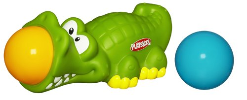 playskool - 373991480 - Jouet de Premier Age - Hop'Balles - Alligator