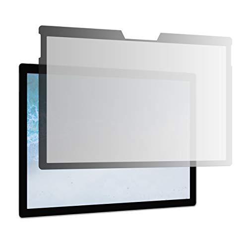 AmazonBasics - Schlanker, magnetischer Blickschutzfilter für Microsoft Surface Pro 4 / 5 / 6