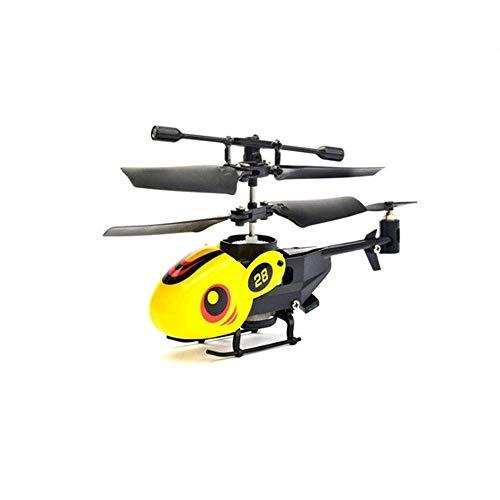 Mini Anti-Collision Leuchten Sie 2-Kanal-Flying RC Hubschrauber Handsuspension Flugzeug Infrarot-Erfassung Induktions-Drohspielzeug mit bunten LED-Beleuchtung blinkende Fernbedienung for Kinder Erwach
