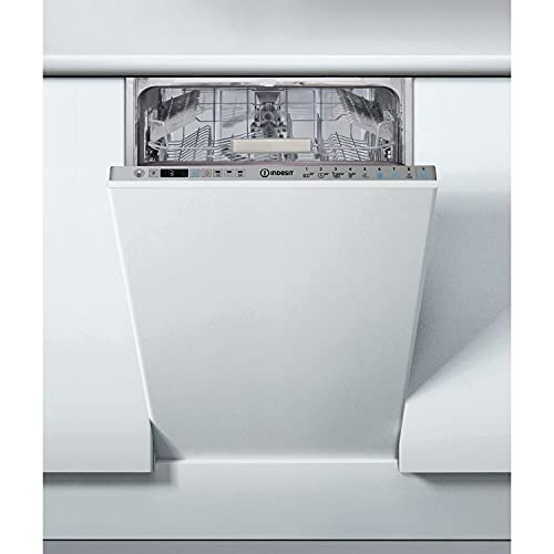Indesit DSIO3T224EZUKN Slimline 10 Place Fully Integrated Dishwasher With Quick Wash