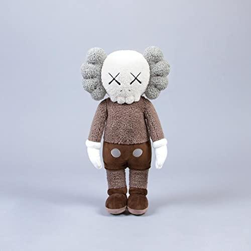 Kaws Barrio Sésamo Muñeco de peluche marrón de 50 cm, muñeco de peluche para amantes, regalos de vacaciones para niños, decoración del hogar