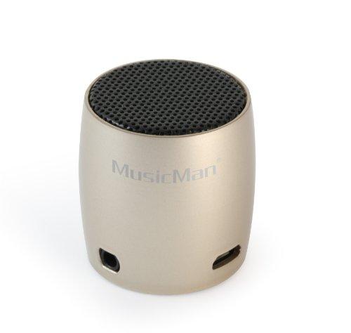 MusicMan BT-X7 NANO Bluetooth Lautsprecher champagner